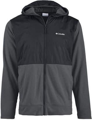 Columbia Mens Hybrid Zip-Front Hooded Jacket