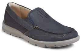 Clarks Collection By Jarwin Leather Slip-On Shoes