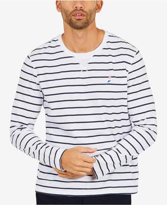 Nautica Men's Striped Long-Sleeve T-Shirt, Created for Macy's
