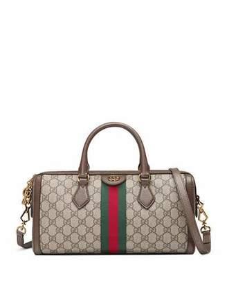 Gucci Ophidia Web GG Supreme Canvas Top-Handle Bag
