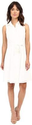 Christin Michaels Illusion Stripe Andria Dress Women's Dress