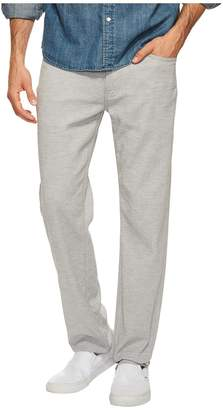 Agave Denim Classic Straight Coco Melange Twill in Zinc Men's Clothing