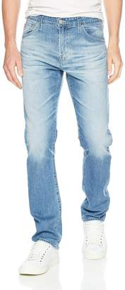 AG Adriano Goldschmied Men's The Ives Modern Athletic Fit LED Denim