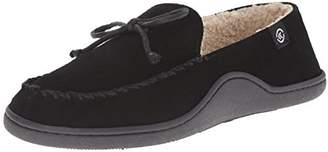 Isotoner Men's Suede Leather Moc Flat