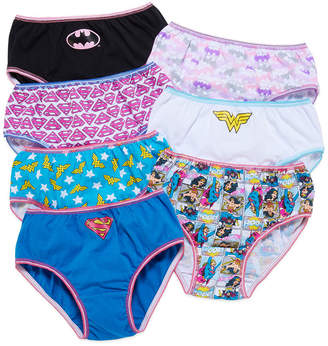 DC COMICS Handcraft DC Superhero 7-pk. Panties - Toddler Girls 2t-4t