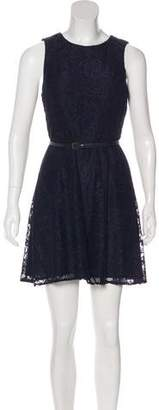 Ali Ro Mini Lace Dress