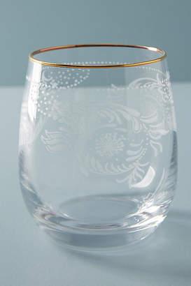 Anthropologie Sante Stemless Wine Glass