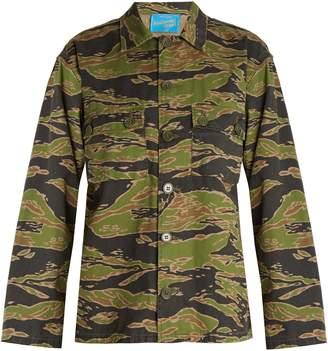 MiH Jeans X Golborne Road Tiger Camo cotton jacket