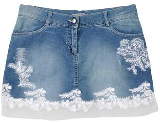 Ermanno Scervino Denim skirt