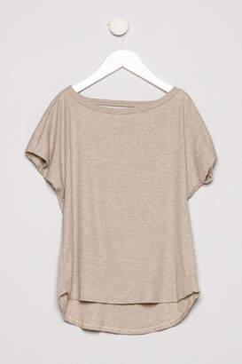 Erge Short Sleeve Rib Shirt