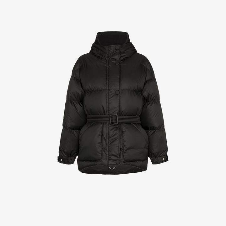 Ienki Ienki Michelin belted feather down puffer jacket