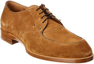 Christian Louboutin Thomas Iii Suede Flat Shoe