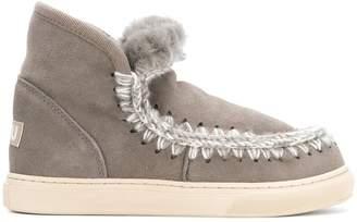 Mou shearling sneakers