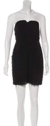 Adam Silk Mini Dress