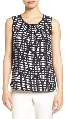 Women's Anne Klein Print Front Shell $59 thestylecure.com