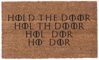 N. Coco Mats More Hold The Door Doormat