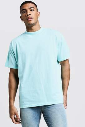 boohoo Loose Fit T-Shirt With Extend Neck