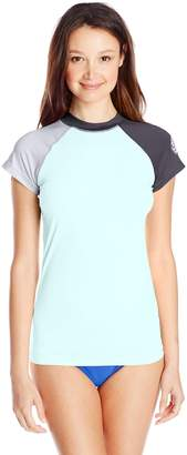 Rip Curl Women's Surf Session Cap Sleeve Rash Guard