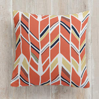 Up and Down Square Pillow
