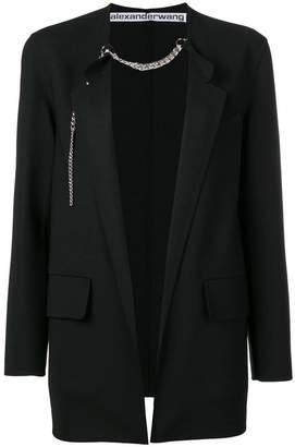 Alexander Wang chain-trim blazer