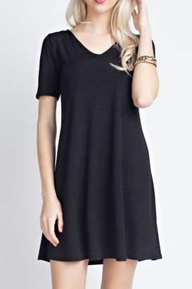 Ami 12pm By Mon Black Trendy Dress