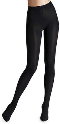 Wolford Super Fine Cotton Rib Tights