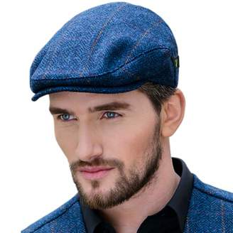 6c17b15e903 Mucros Weavers Men s Donegal Tweed Flat Cap - Traditional Style