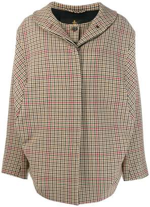 Vivienne Westwood Bomber Nymphe check jacket