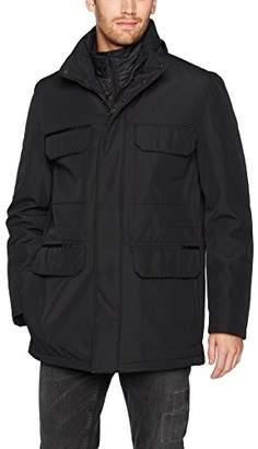 Andrew Marc Men's Sheffield Bonded Shell Jacket with Hidden Hood