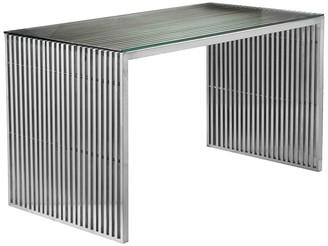 Pangea Silver Lux 59In Desk