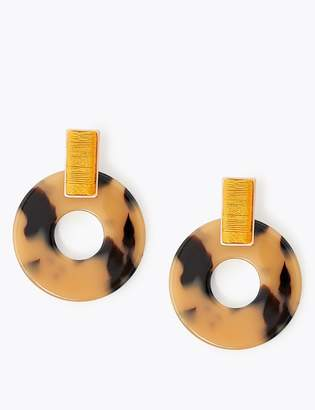 M&S CollectionMarks and Spencer Woven Resin Hoop Earrings