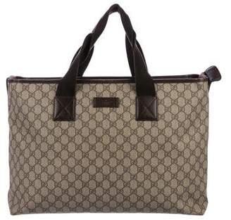 59f52d5dc10 Gucci Zip Top Tote - ShopStyle