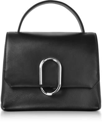 3.1 Phillip Lim Alix Black Leather Mini Top Handle Satchel Bag
