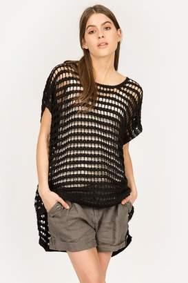 MUR Hi-Low Net Sweater