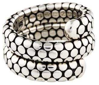 John Hardy Dot Double Coil Ring