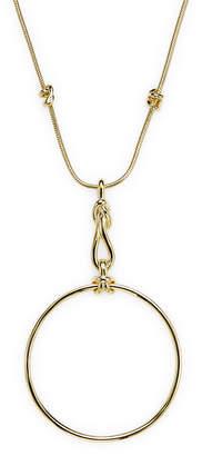 Noir Necklace Long Pendant