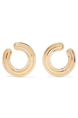 Melissa Kaye Jen 18-karat Gold Hoop Earrings - one size