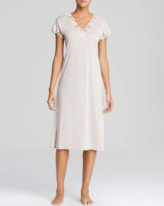 Natori Zen Floral Lace Nightgown