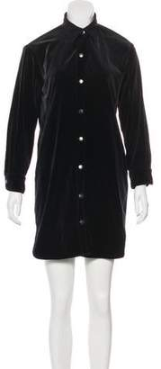 Current/Elliott Long Sleeve Mini Dress