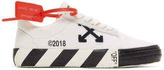 Off-White Off White White Vulc Sneakers