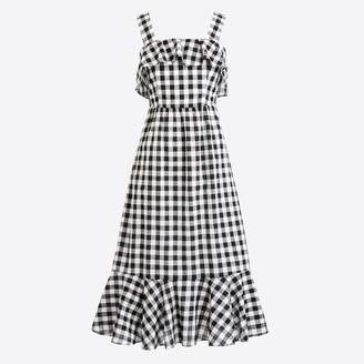 J.Crew Factory Midi dress in gingham