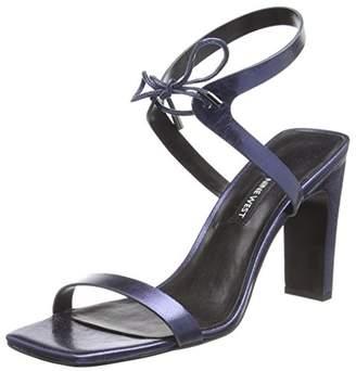 Nine West LONGITANO, Women's Ankle-Strap, Blau (Blue Notes), (8 US)