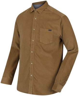 Regatta Great Outdoors Mens Benton Long Sleeve Cord Shirt (XXXL)