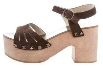 Chanel Paris-Dallas Platform Sandals