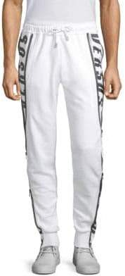 Versus By Versace Stretch Cotton Jogger Pants