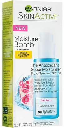 Garnier SkinActive Moisture Bomb Daily Moisturizer SPF 30 $16.99 thestylecure.com