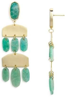Kendra Scott Emmet Amazonite Chandelier Earrings - 100% Exclusive