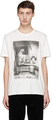 Wacko Maria White Daido Moriyama Edition Focus T-Shirt