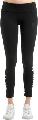 Reebok Classics Gigi Hadid Logo Cotton Leggings
