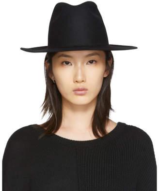 Cherevichkiotvichki Black Felt Hat